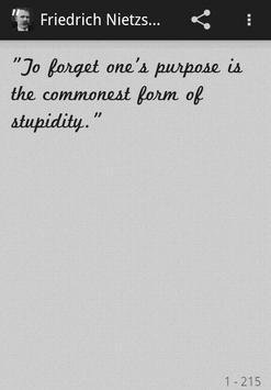 Friedrich Nietzsche Quotes Pro poster
