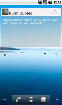 Rumi Quotes apk screenshot