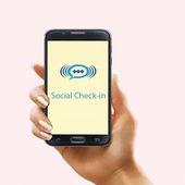 Social Check-In icon