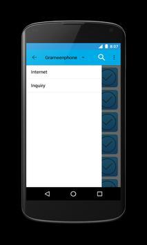Internet Data Plans-All BD SIM apk screenshot