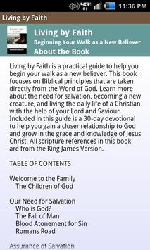 Living by Faith Devotional apk screenshot