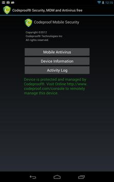 Codeproof MDM for Android poster