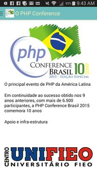 PHP Conference Brasil poster