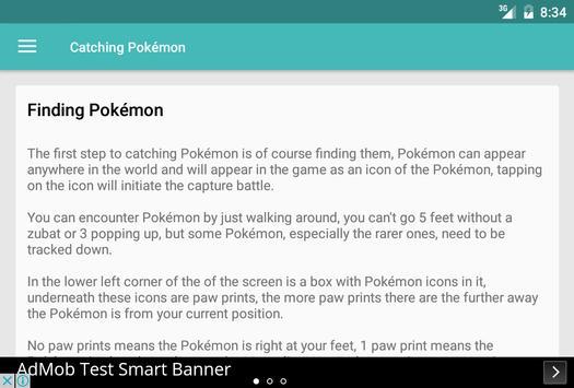 Master Guide for Pokemon GO apk screenshot