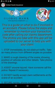 Global Hawk Insurance apk screenshot