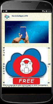 Guide For Cloud VPN 100% Free apk screenshot
