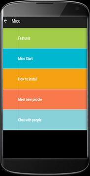 Guide for Mico Meet New apk screenshot