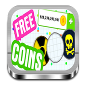 Coins and Skins for Agar io icon