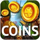 Coins for Subway icon