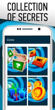 Cheats: Coins for Subway Surf poster