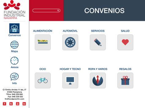 Convenios FIN poster