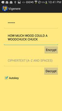 Vigenere Cipher poster