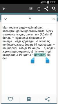 Казахский словарь - офлайн apk screenshot