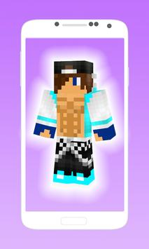 Cool hot skins for boys apk screenshot