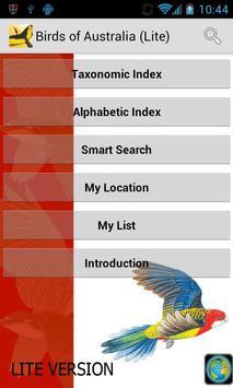 Morcombe's Birds of Aus (Lite) poster