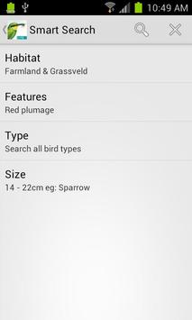 Sasol eBirds (Lite) apk screenshot