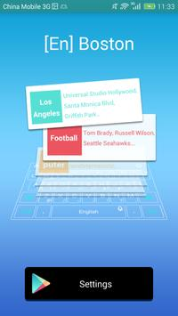 Boston dictionary for TouchPal poster