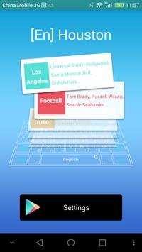 Houston dictionary - TouchPal poster