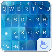 Icy Blue Keyboard Theme icon