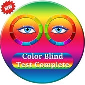 Color Blind Test Complete icon