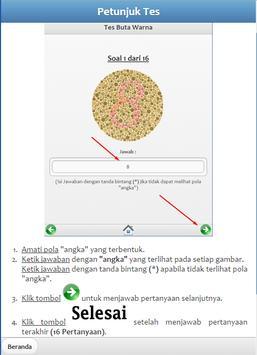 Color Blind Test Complete apk screenshot