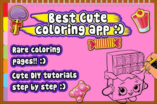 Kids Coloring book for Shopkin apk screenshot