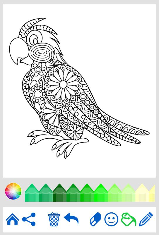 Coloring Book Animal Mandala APK Download