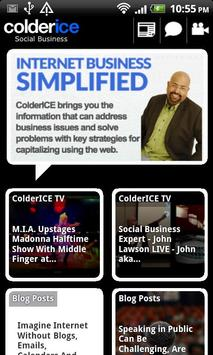 ColderICE - Social Business poster