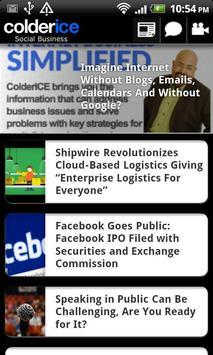 ColderICE - Social Business apk screenshot