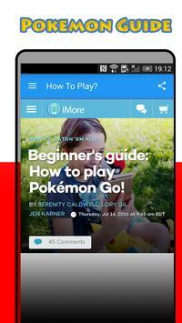 PokeGo Guide for Pokemon GO poster