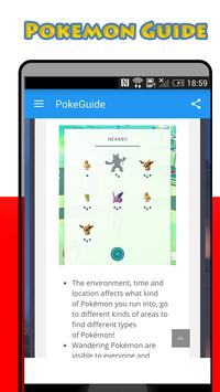 PokeGo Guide for Pokemon GO apk screenshot