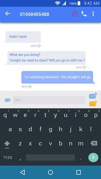 SMS blocker apk screenshot