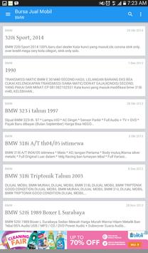 Bursa Jual Mobil Online apk screenshot