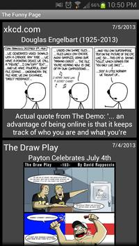 Funny Page - Web Comic Reader poster