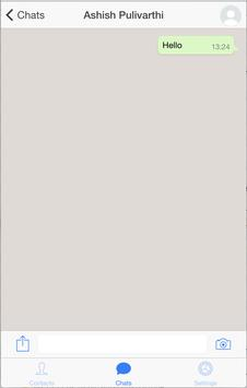 Messenger App poster