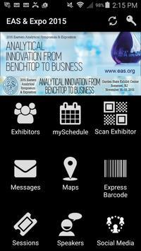 EAS & Expo 2015 poster