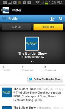 The Builder Show 2015 apk screenshot