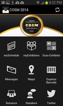 COSM 2014 poster