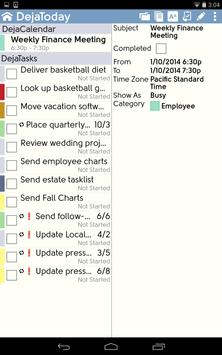 DejaOffice CRM with PC Sync apk screenshot