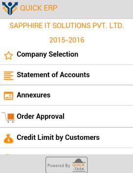 QUICK ERP apk screenshot