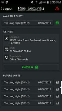 Reel Security Corp. apk screenshot
