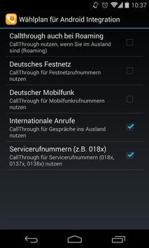 easybell CallThrough apk screenshot