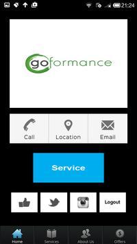 Goformance apk screenshot