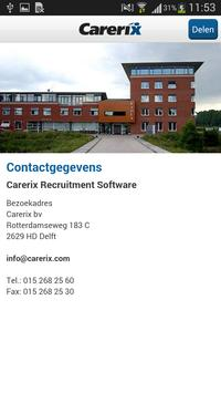 Carerix apk screenshot
