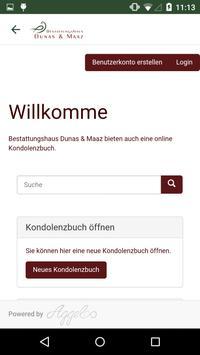 Bestattungshaus Dunas & Maaz apk screenshot