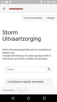 Storm Uitvaartverzorging poster