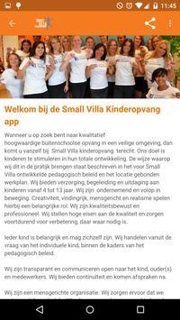 Small Villa Kinderopvang apk screenshot