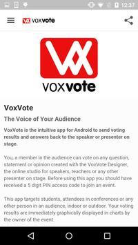 VoxVote poster