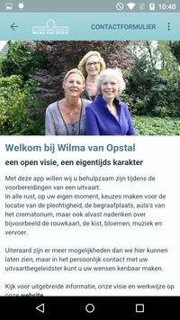 Wilma van Opstal poster