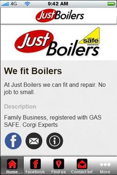 Just Boilers Hartlepool poster